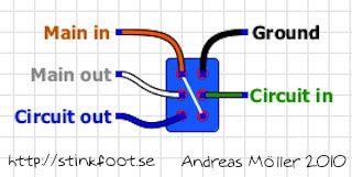 true bypass footswitch wiring diagram freestompboxes.org • view topic - pulldown resistors ...