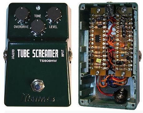 Tube Screamer genealogy – stinkfoot.se on